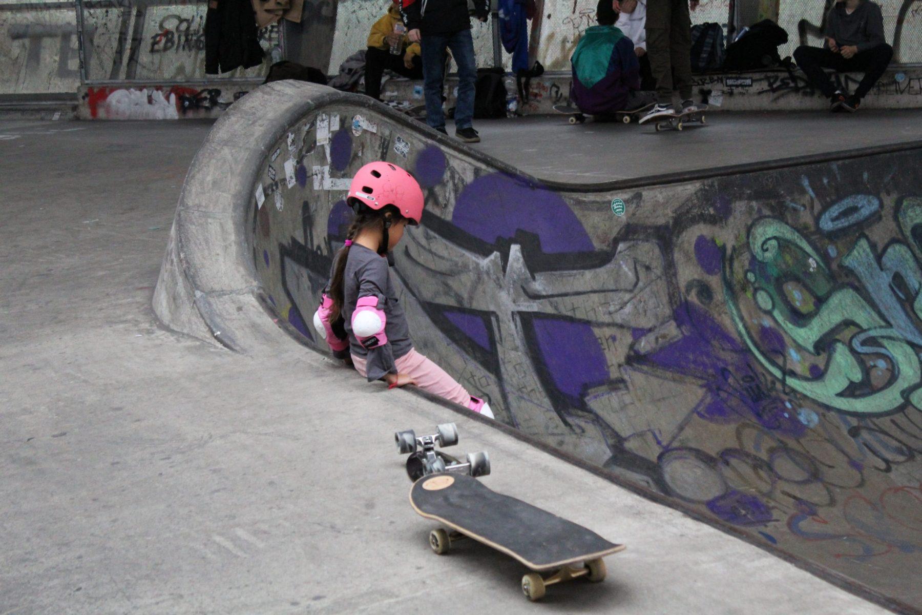 Ausflug zum Skatepark in den Ferien